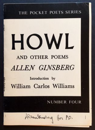 Howl and Other Poems (SIGNED BY 5 OF THE BOOK'S PRINCIPAL FIGURES)