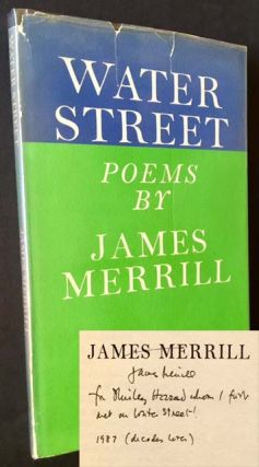 Water Street. James Merrill.