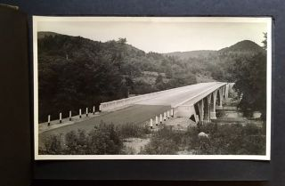 Early 20th Century Photo Album Depicting Mostly Connecticut Bridges in Their Various States of...
