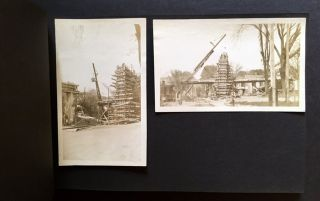 Early 20th Century Photo Album Depicting Mostly Connecticut Bridges in Their Various States of Construction