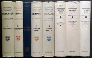 Primates: Comparative Anatomy and Taxonomy (Complete in 8 Vols.)