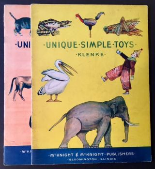 Unique Simple Toys AND Unique Simple Toys Book II. William W. Klenke