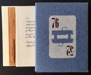 52 Pickup 76 (With Additional Ephemera). Greg Gatenby