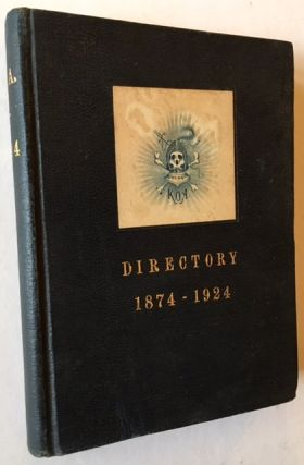 K.O.A. Phillips Academy Andover: Directory 1874-1924