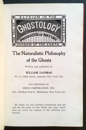 Ghostology: The Naturalistic Philosophy of the Ghosts