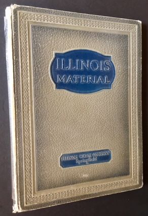 Catalogue and Price List of Materials Manufactured by Illinois Watch Company