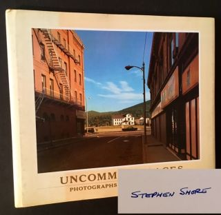 Uncommon Places (Jean Stein's Copy). Stephen Shore.