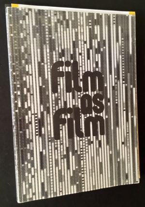 Film as Film: Formal Experiment in Film 1910-1975 (With the Publisher's Promotional 8 Pg. Booklet