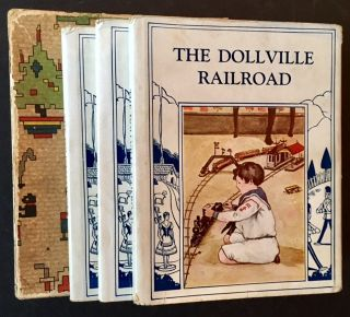 The Toyland Series (The First 3 Vols): The Unhappy Paper Doll, The Policeman Cat and The...