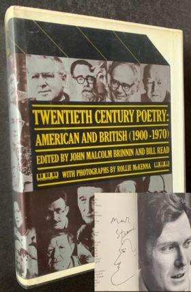 Twentieth Century Poetry: American and British ((1900-1970) -- Burt Britton's Copy, Signed by 14...