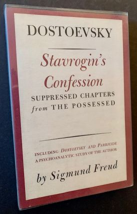 Stavrogin's Confession: Suppressed Chapters from The Possessed. Dostoevsky
