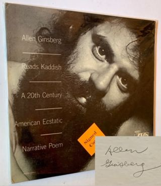 Allen Ginsberg Reads Kaddish: A 20th Century American Ecstatic Narrative Poem (LP Record