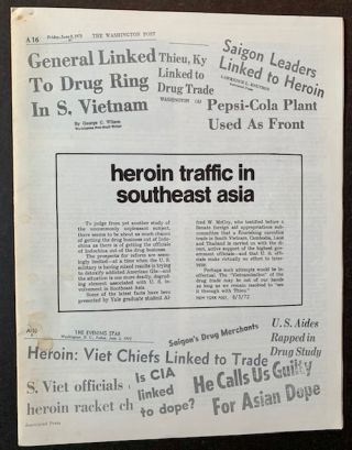 Heroin Traffic in Southeast Asia. Alfred McCoy