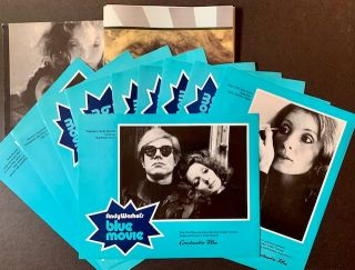 "A German Promotional Package for Andy Warhol's Film ""Blue Movie"""