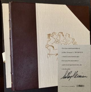 Horses (The Deluxe Signed/Limited Edition in Slipcase AND Publisher's Original Shipping Carton)....