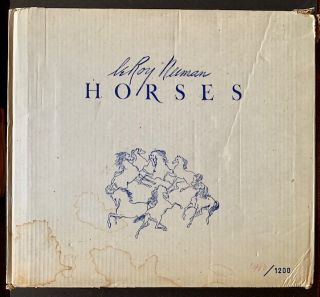 Horses (The Deluxe Signed/Limited Edition in Slipcase AND Publisher's Original Shipping Carton)