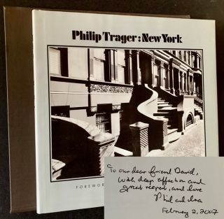 Philip Trager: New York (The Signed/Limited, in Slipcase). Philip Trager