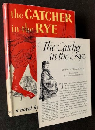 The Catcher in the Rye (with the Book-of-the-Month Club Promotional). J D. Salinger