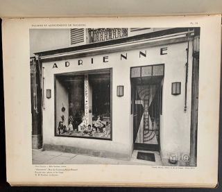 Modern French Shop-Fronts and Their Interiors (Complete with 54 Plates)