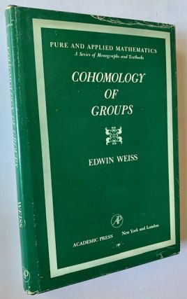 Cohomology of Groups. Edwin Weiss