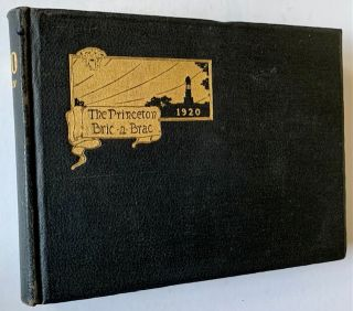 The Princeton Bric-a-Brac Volume XLIV (1920) -- With 3 References to F. Scott Fitzgerald '18