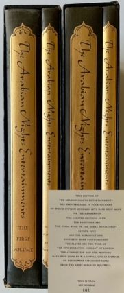 The Arabian Nights Entertainments (4 Books in 2 Separate Volumes