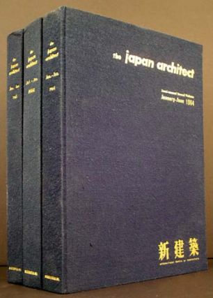 The Japan Architect: International Edition of Shinkenchiku (3 Semi-annual Bound Volumes