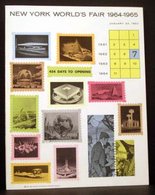 New York World's Fair 1964-1965: Progress Report #7 (of 9 issued)-- January 24, 1963