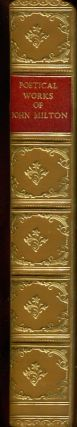 Poetical Works of John Milton (Fine Binding