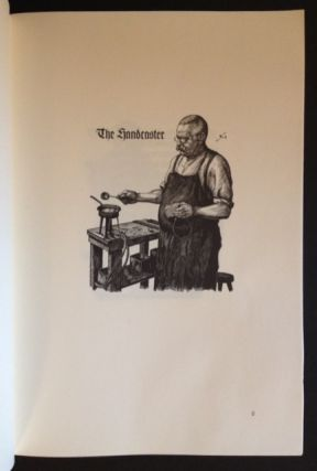 Printing Types: Their Birth in the Typefoundry Depicted in Woodcut and Verse