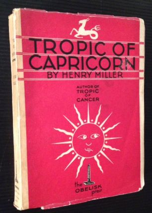 Tropic of Capricorn. Henry Miller.