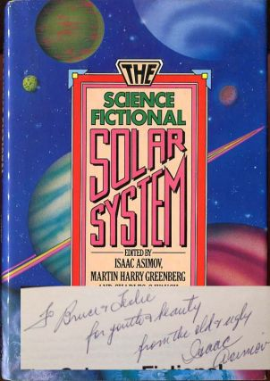 The Science Fiction Solar System. Ed Isaac Asimov