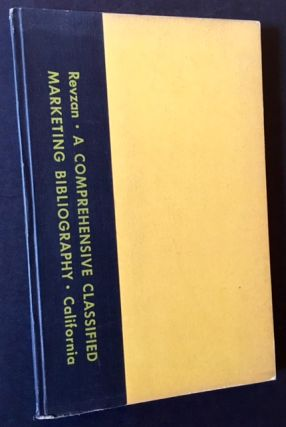 A Comprehensive Classified Marketing Bibliography (2 Vols.). Ed David A. Rezvan