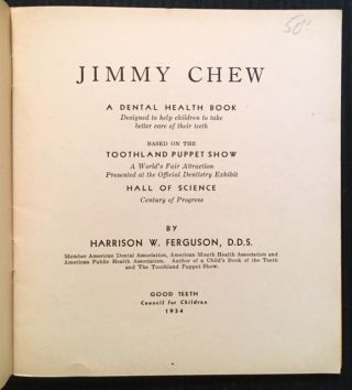 Jimmy Chew: A Dental Health Book