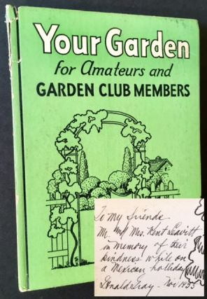 Your Garden: Plan --Planting-- Care. Donald Gray