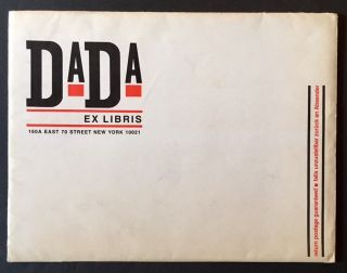 Dada Ex Libris (In the Shipping Envelope)