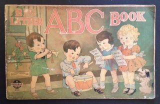 "Big Letter ABC Book (""A Durable Book"""